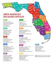 Map Of The Villages Florida by Florida Department Of Elder Affairs Aging Resource Centers