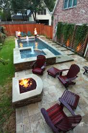 pool house with bathroom stall google search lets put in a narrow pool with hot tub firepit great for small spaces