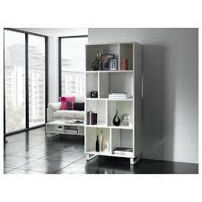 4 Shelf Bookcase White by Myshop