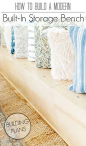 Plans To Build A Storage Bench by 79 Best Entryway U0026 Mudroom Images On Pinterest Wood Projects