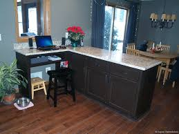 Kitchen Peninsula With Seating by Custom White Cabinet Kitchen Remodel Aspen Remodelers