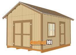Free Saltbox Wood Shed Plans by Free Shed Plans With Drawings Material List Free Pdf Download