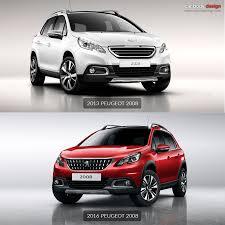 peugeot 2016 models peugeot unveils restyled 2008 car body design