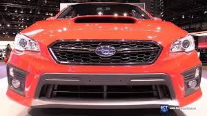 Is The Subaru Brz Awd 2018 Subaru Wrx Awd Exterior And Interior Walkaround 2017