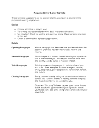 Sample Resume Objectives For Job Fair by Job Resume Letter For Job