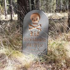 halloween tombstone seymour lawn yard ornament sign