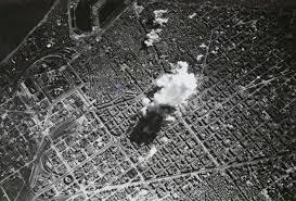 Bombardeos aéreos de Barcelona en marzo de 1938