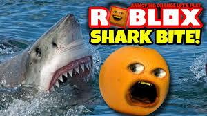roblox shark bite annoying orange plays youtube