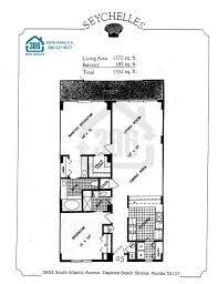 seychelles daytona beach floor plans