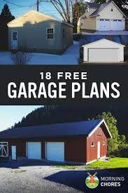 Garage Plans With Porch by 18 Free Diy Garage Plans With Detailed Drawings And Instructions