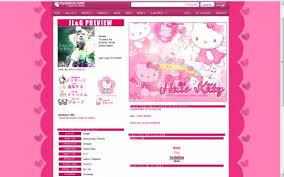 kitty myspace layouts createblog