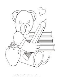 first day of kindergarten coloring page within shimosoku biz