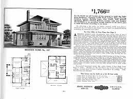 sears foursquare house plans house plan