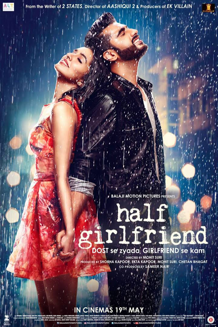 Half Girlfriend 2017 Hindi HDRip 720p 770MB Esub MKV