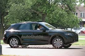 Audi Q5 Black - 2018 audi q5 spied nearly fully exposed