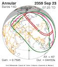 NASA - Catalog of Solar Eclipses of Saros 140