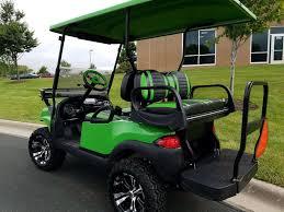 lime green phantom elite street legal club car 48v electric golf cart