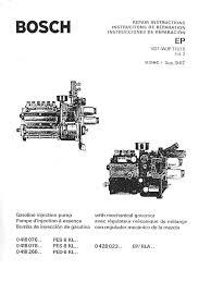 bosch diesel pump repair manual timing bosch mfi repair manual