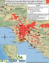 Los Angeles County Map by 1 Out Of 3 People In Los Angeles Lives Within A Mile Of An Oil