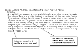 The following examples of an annotated bibliography can help you to cite your works in either