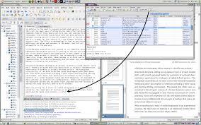 Screenshot of JabRef adding a citation to a LaTeX document