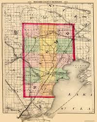Detroit Michigan Map by Macomb Michigan Map Michigan Map
