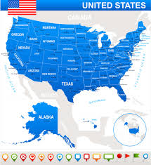 State Map United States by Usa Map