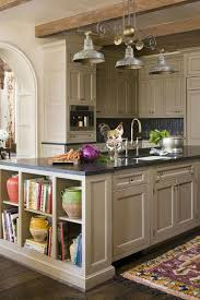 kitchen room design trendy display kitchen islands open shelving