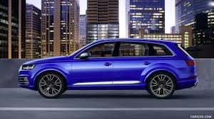 Audi Q7 Colors 2017 - 2017 audi sq7 tdi color sepang blue side hd wallpaper 7