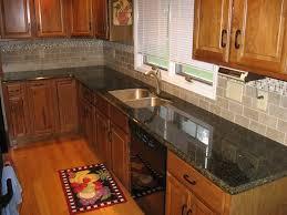 Kitchen  Backsplash Ideas With Cherry Cabinetss - Kitchen backsplash ideas dark cherry cabinets