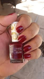 product review pacifica nail polish in red red wine beauty