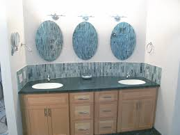 bathroom gray wood eames tulip images custom framed bathroom