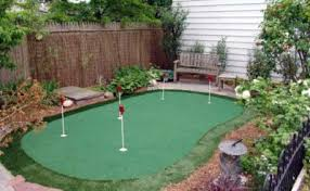 Backyard Golf Hole by Indoor Putting Greens And Artificial Grass Starpro Greens