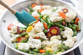 Vegetables by How To Steam Fry Vegetables Simplyrecipes Com