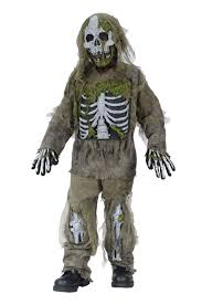 zombie boy halloween costume boy u0027s skeleton zombie costume kids costumes
