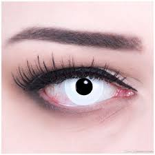 sellers pure white crazy contact lenses u003dwholesale halloween
