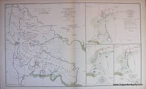 Roanoke Virginia Map by Antique Maps And Charts U2013 Original Vintage Rare Historical