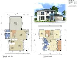 modern house plans two story house design modern on 3d house floor