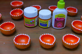 diwali diyas decoration ideas images home design unique on diwali