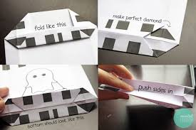 Printable Halloween Bags Diy Cute Paper Loot Bags With Free Printable Minted Strawberry