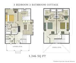 L Shaped House Floor Plans 100 Floor Plans For Cottages Floor Plans Small 3 Bedroom