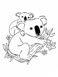 harp coloring page free printable koala coloring pages for kids