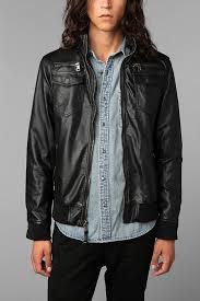men s moto jacket faux leather moto jacket moto jacket