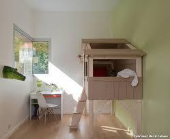 Cabane Fille Chambre by Fabriquer Un Lit Cabane With Scandinave Chambre D U0027enfant