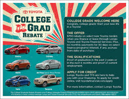 lexus service el monte toyota college grad rebate program in el monte ca new toyota