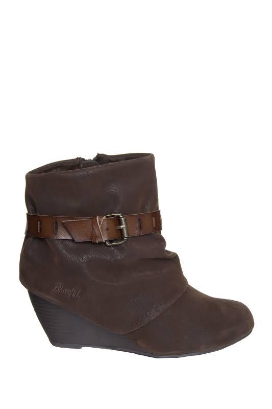 Blowfish Beryl Boot,Dark Brown,7.5