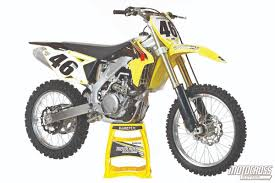motocross action magazine mxa u0027s 2015 suzuki rm z450 motocross