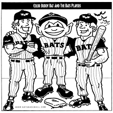 coloring pages louisville bats group outings