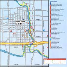 Map Of University Of Michigan by Michigan State Capitol Parking