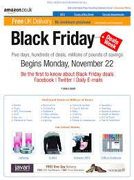amazon black friday games calendar top 20 black friday u0026 cyber monday email inspirations